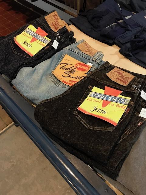 フランス製テディスミスのジーンズ