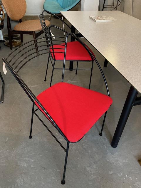 postmodern iron chairs