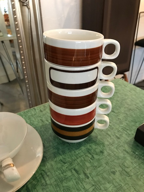 stackable cups/70's germany