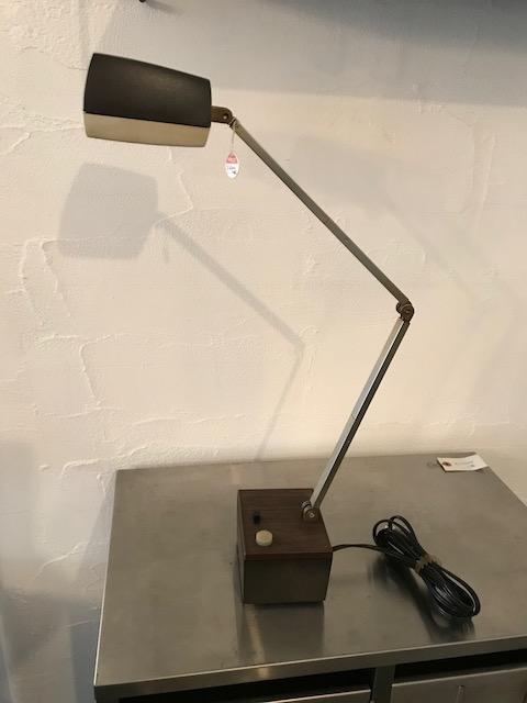 """single joint arm desk lamp/""""nanbu kogyo"""" 70's japan"""