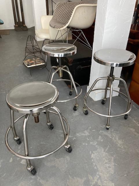 industrial stainless steel stools