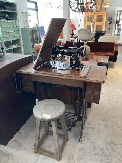 vintage Singer sawing machine