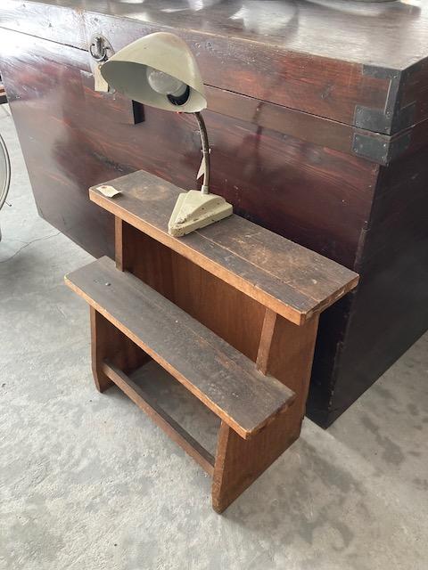 wooden step board