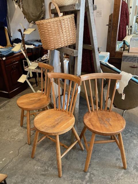 vintage Windsor chairs