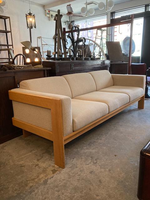 Tendo Mokko 3seat sofa ISAMU KENMOCHI