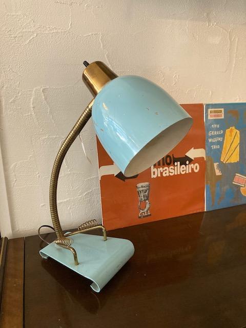 atomic age 50's desk lamp
