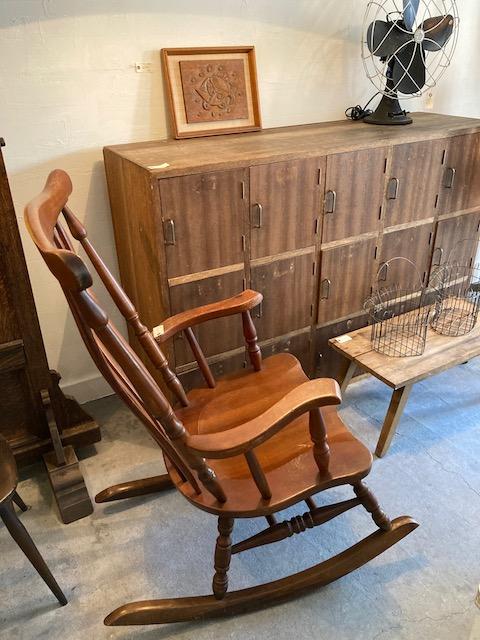 '60 Akita mokko rocking chair