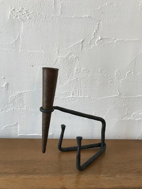 "metal sculpture / ""Mitate"" 鉄・銅"