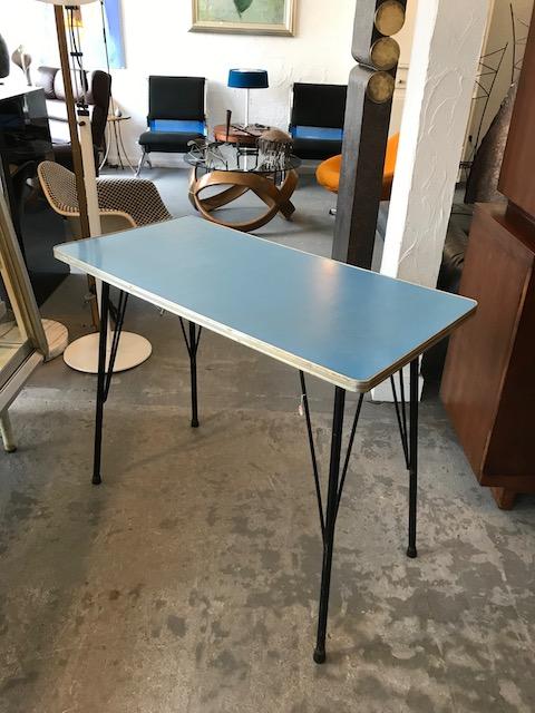 鉄脚テーブル/1960年代