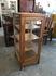 木製縦型ガラスケース