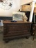 decorative wooden sideboard or counter/unknown old