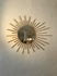 sunburst wall mirror/50's france