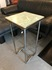 formica top metal leg sidetable/50's Japan