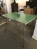 formica top metal leg dining table/60's japan