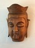 wood carving Buddha mask/circa 1930~40's japan