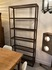 industrial 50's rusted metal shelf