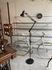 anglepoise style floorstand lamp