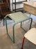 industrial metal side table postmodern design