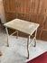 painted rustic metal table