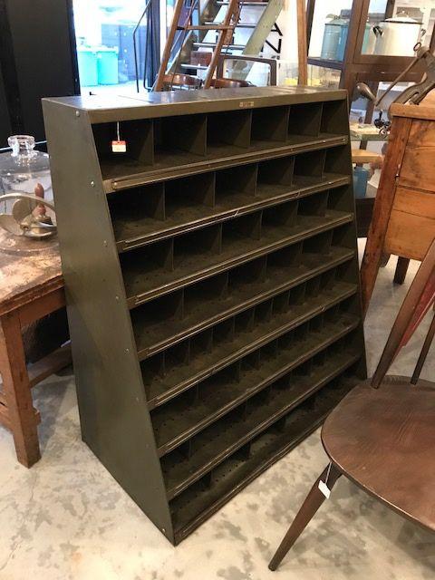 industrial metal shelf